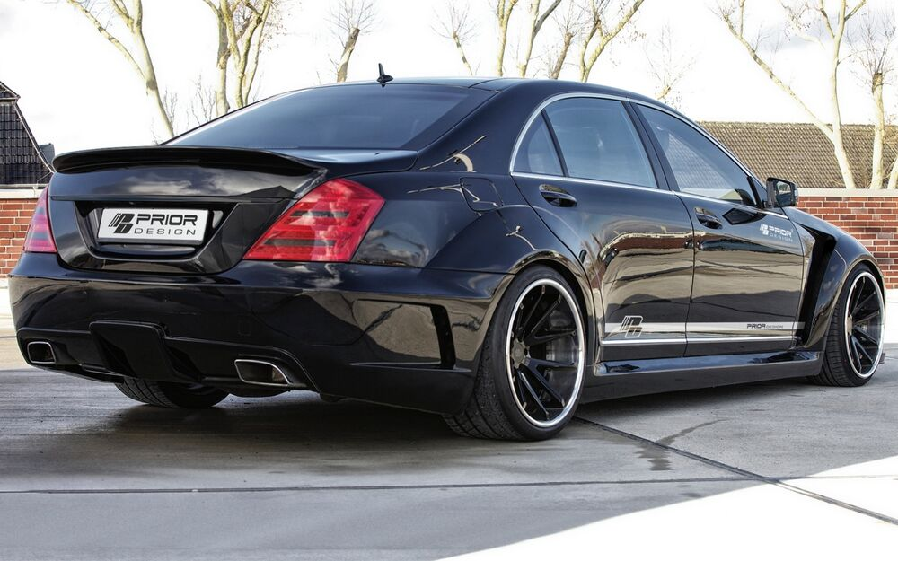 Mercedes s class w221 wide body kit s550 s63 s65 s600 63 for Mercedes benz s550 accessories