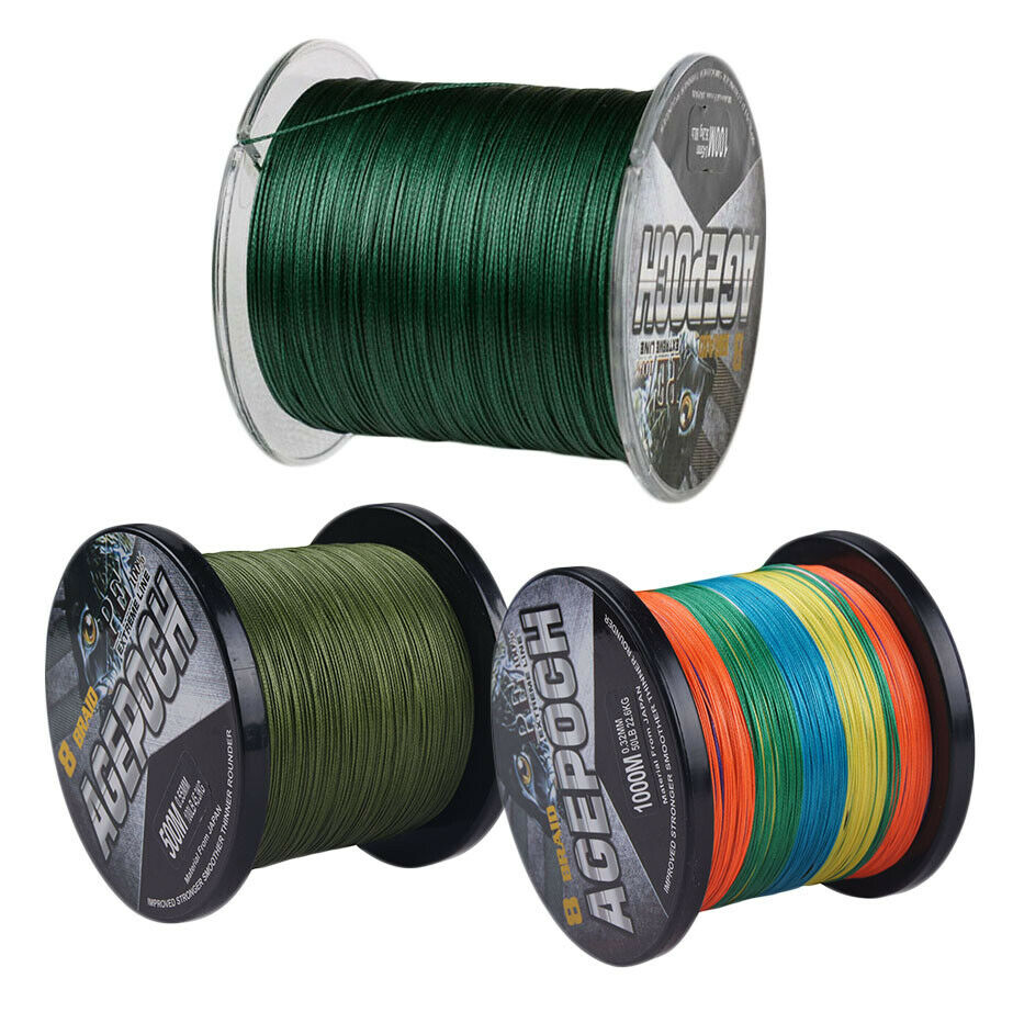 8strands1000m 1093yds 20 100lb agepoch super strong for Braid fishing line