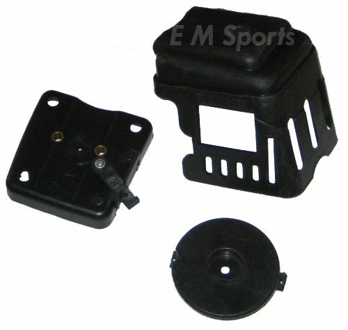 Stand up gas scooter engine motor parts air filter cleaner for Stand on scooters with motor