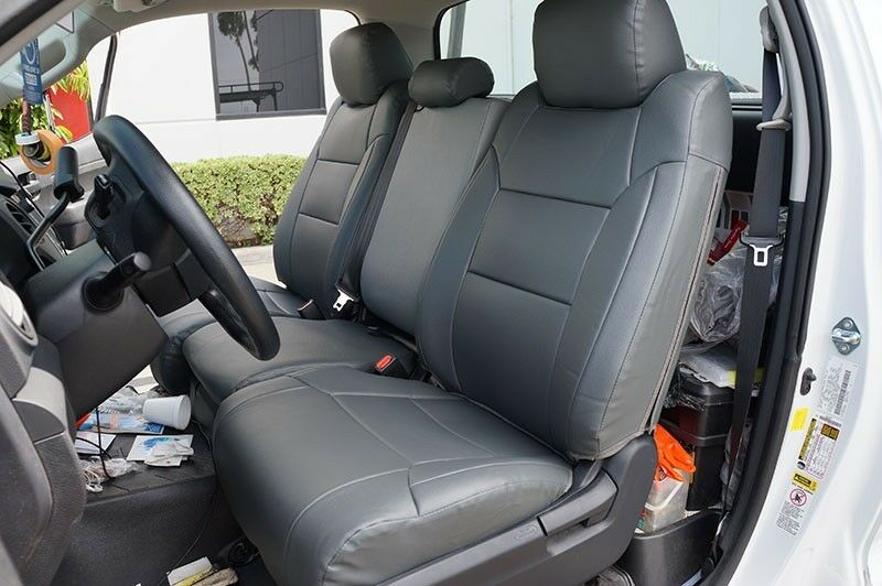 toyota tundra 2014 leather like custom fit seat cover ebay. Black Bedroom Furniture Sets. Home Design Ideas