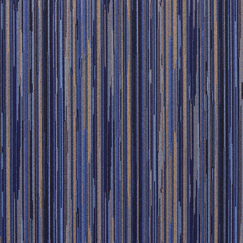 e226 navy blue gold abstract stripe contract upholstery fabric by the yard ebay. Black Bedroom Furniture Sets. Home Design Ideas