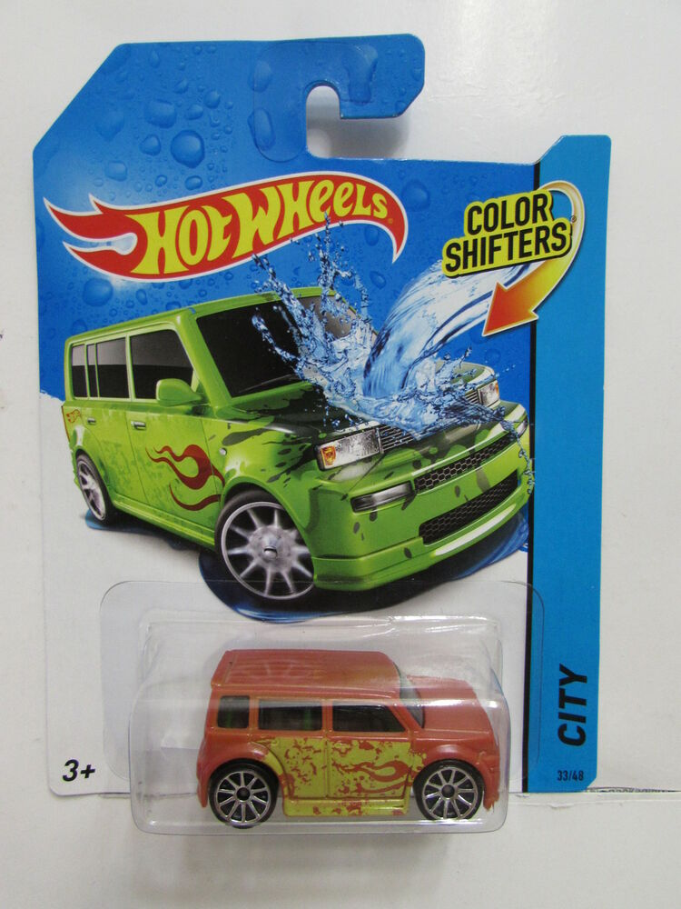 hot wheels city color shifters city scion xb ebay. Black Bedroom Furniture Sets. Home Design Ideas