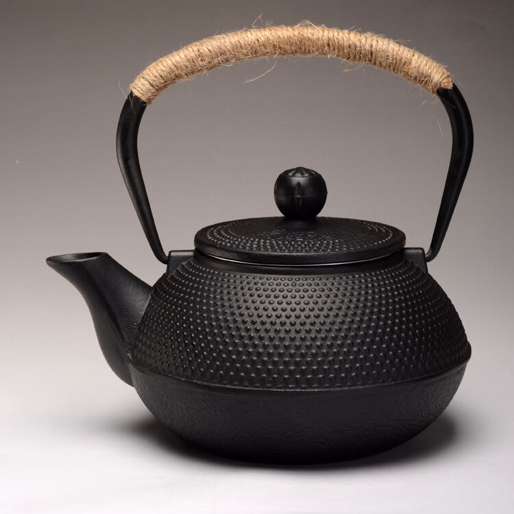 Japanese style cast iron kettle tetsubin teapot with strainer 900ml capacity ebay - Japanese teapot with strainer ...