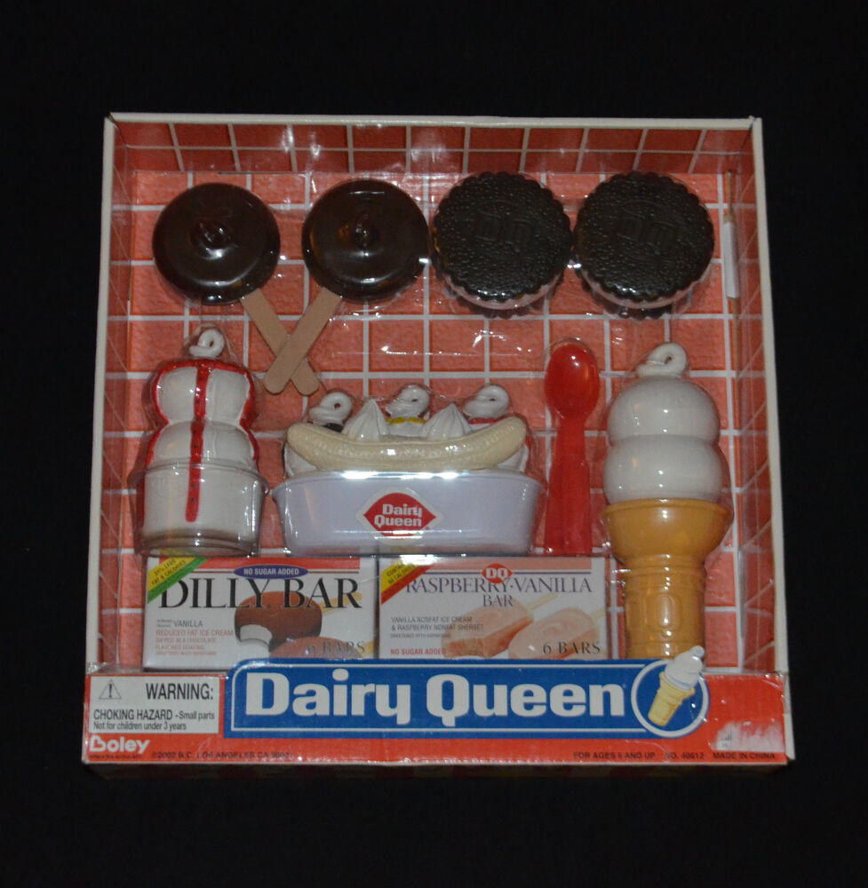 Brand New Dairy Queen Toys Pretend Play Food Ebay