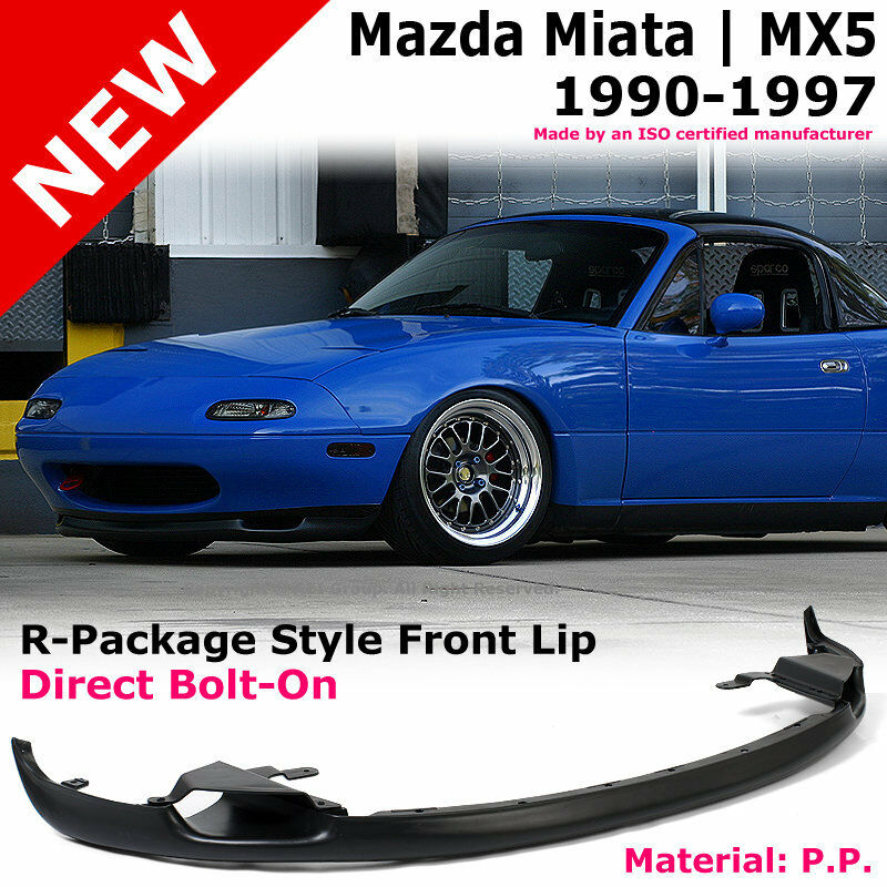MX5 90-97 R-Package Style PP Front Bumper