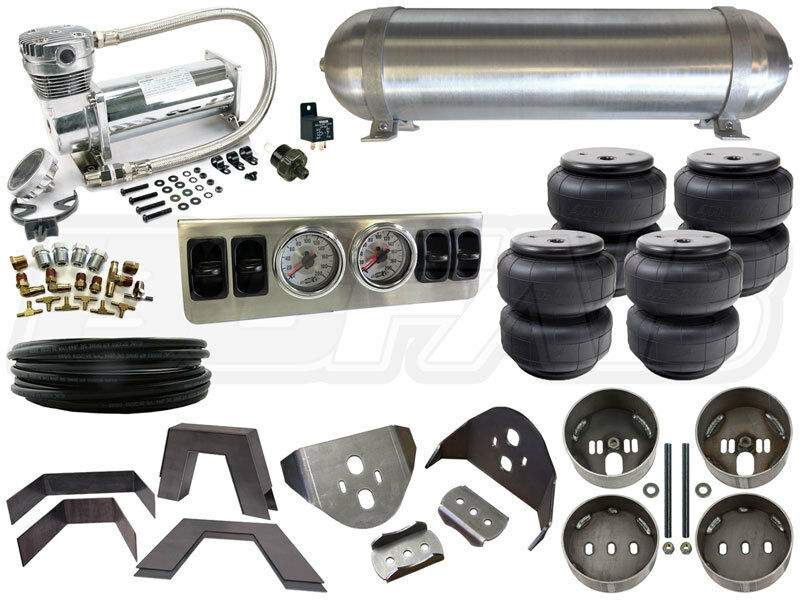 air bag suspension kit 1982 2003 chevy gmc s10 1 4 in