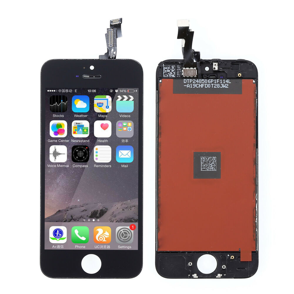 iphone 5s screen black lcd display touch screen digitizer assembly 1332