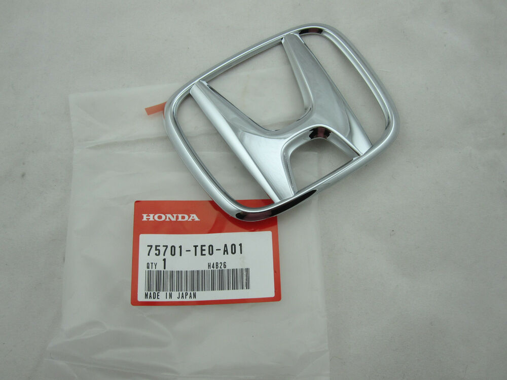 Genuine Honda Accord 2 Door Coupe Rear Trunk Emblem Logo