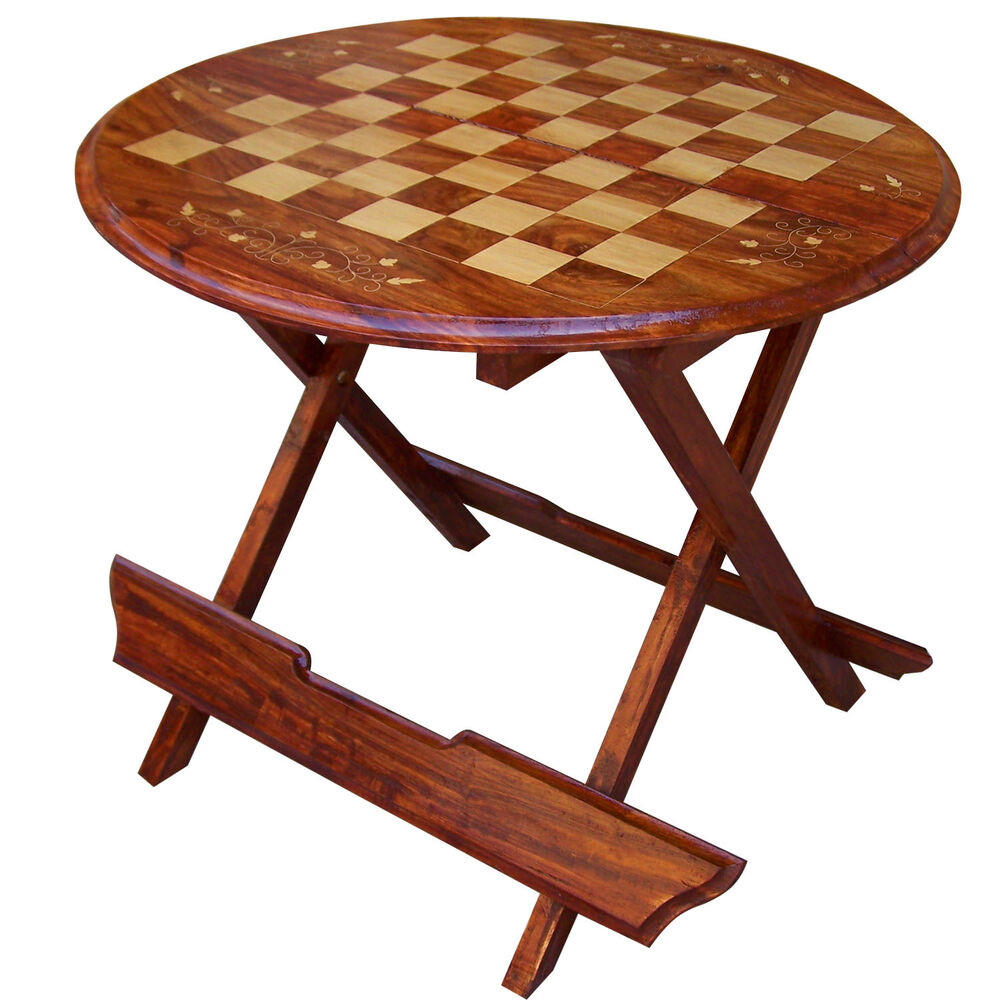 Wooden Chess Table ~ Wooden chess table solid coffeetable family