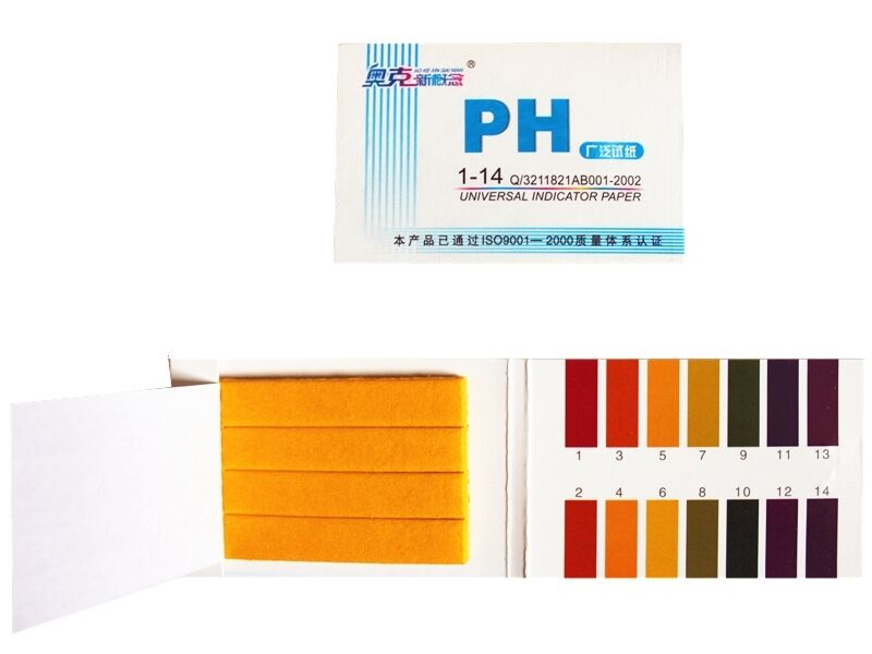 Aquarium ph test kit 80 test strips tropical fish tank for How to lower ph in fish tank