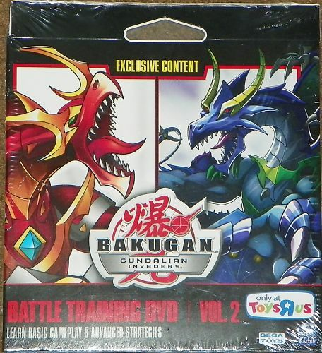 Toys R Us Dvd : New bakugan toys r us battle training dvd vol sealed ebay