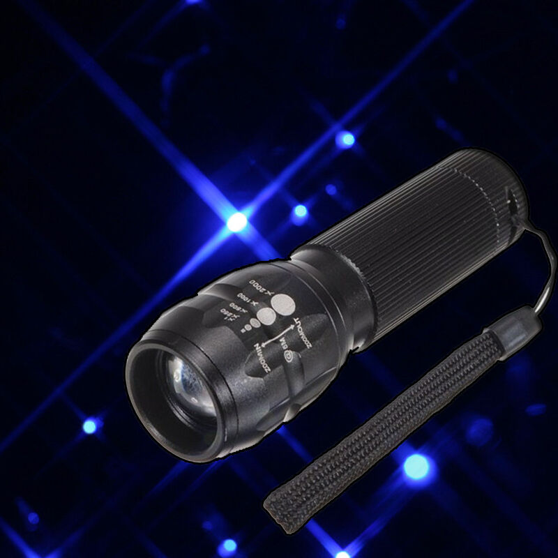 High Power Torch 500 Lumen Zoomable LED Flashlight Torch