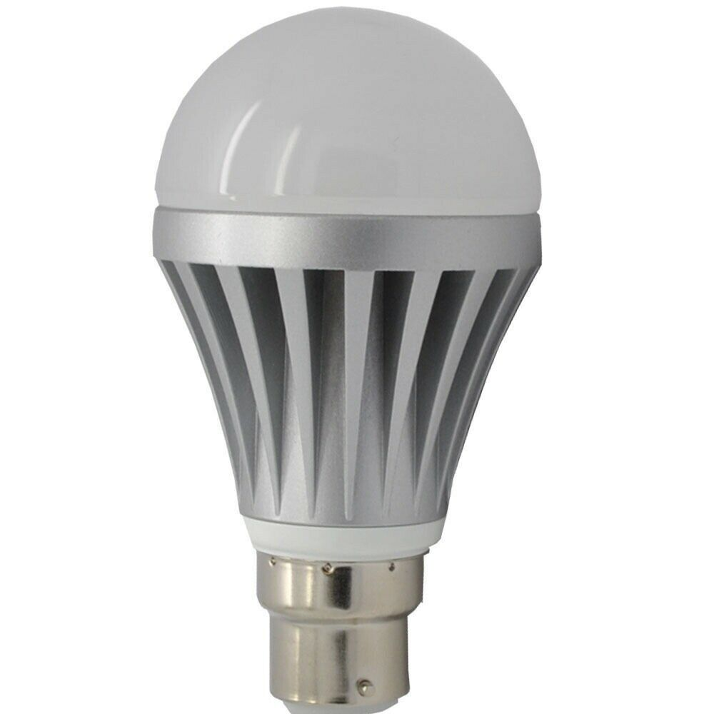 quality b22 7w samsung led chip bulb 600 lumens 60w equiv bc bayonet cap ebay. Black Bedroom Furniture Sets. Home Design Ideas