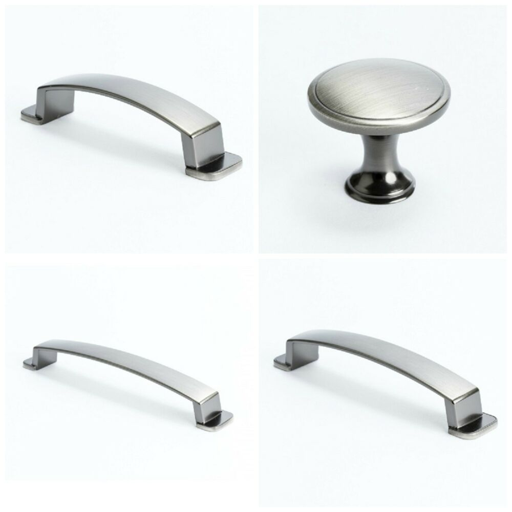 Kitchen Cabinet Knobs Or Pulls: BERENSON OASIS BRUSHED TIN KITCHEN CABINET HARDWARE DRAWER