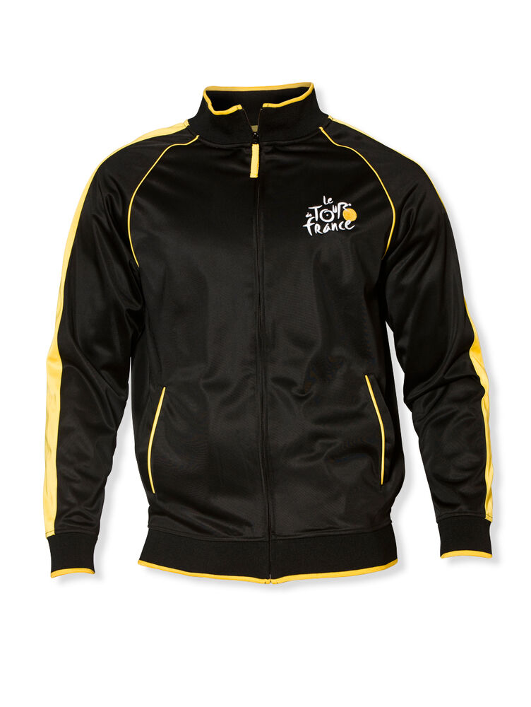 Tour de france apres jacket official apparel black ebay for The tour jacket polo shirt