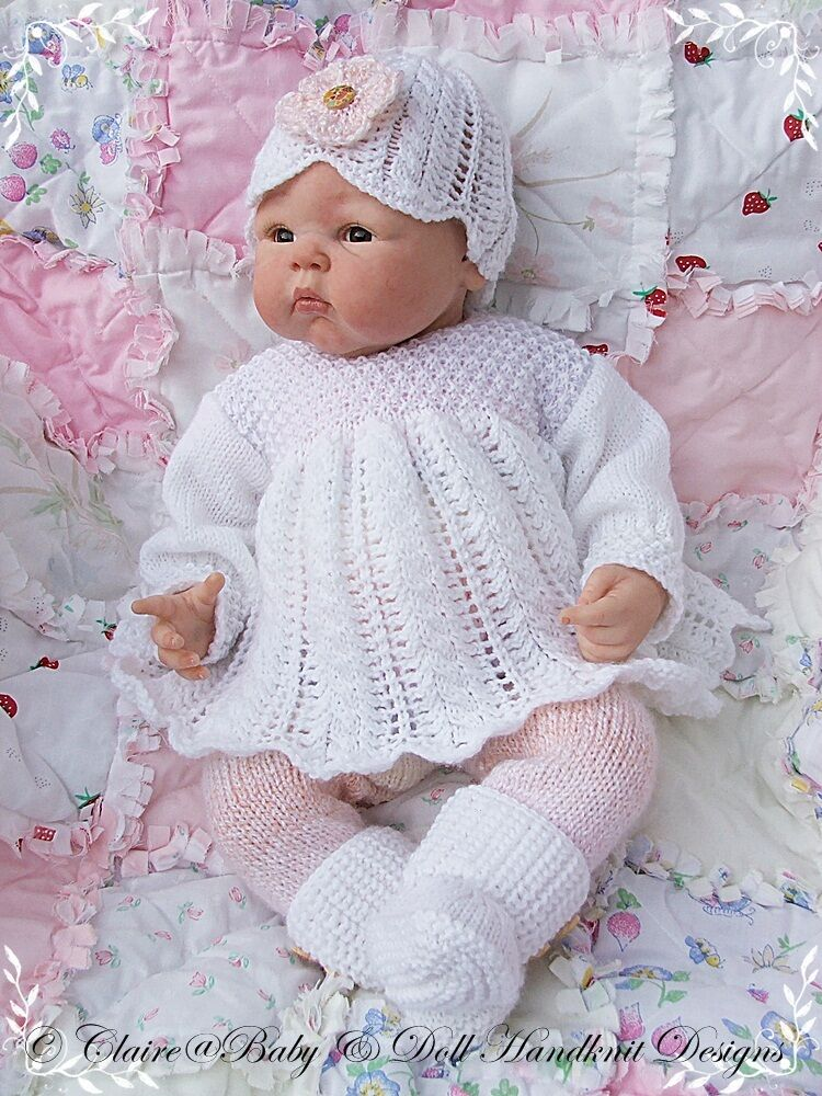 Free Knitting Pattern For Baby Angel Top : BABYDOLL HANDKNIT DESIGNS KNITTING PATTERN ANGEL TOP ...