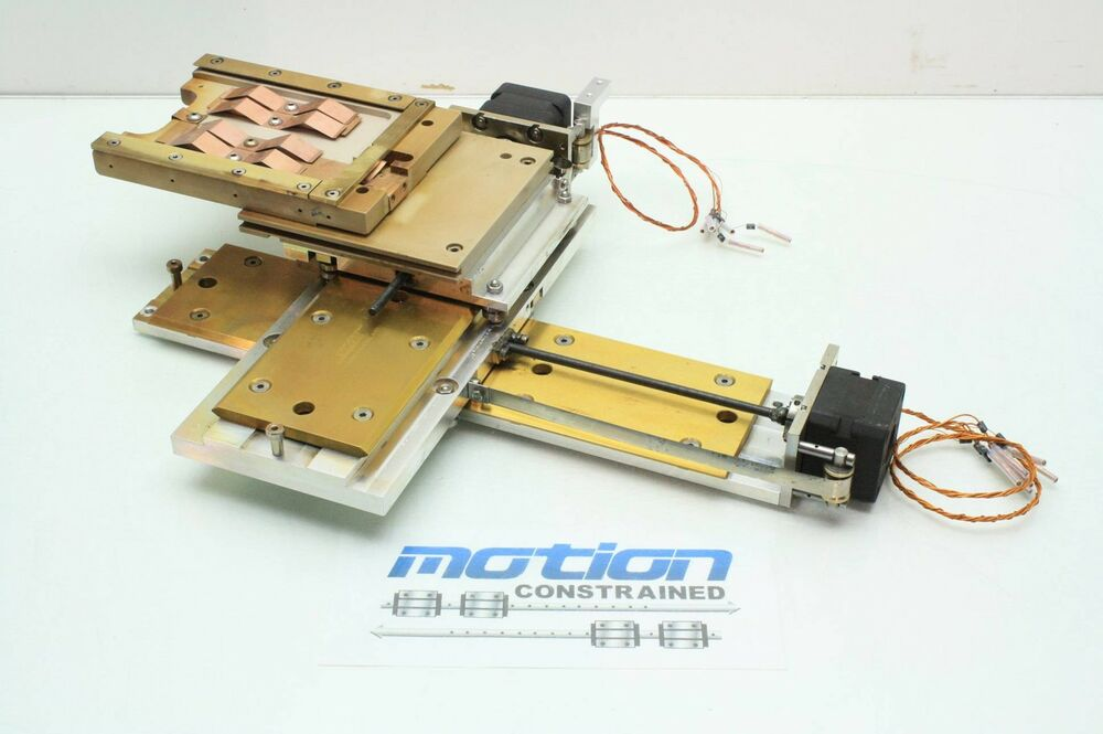 2 Axis Hepco Motion High Vacuum Chamber Stepper Motor