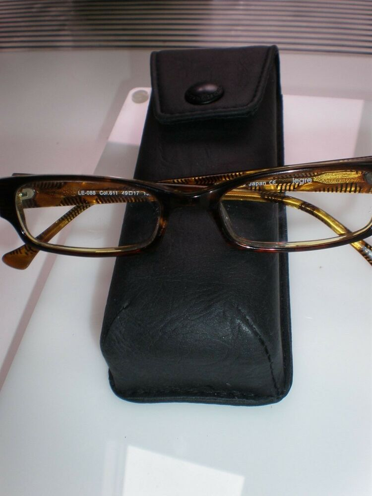 VINTAGE AUTHENTIC LEGRE LE088 EYEGLASSES FRAME JAPAN eBay