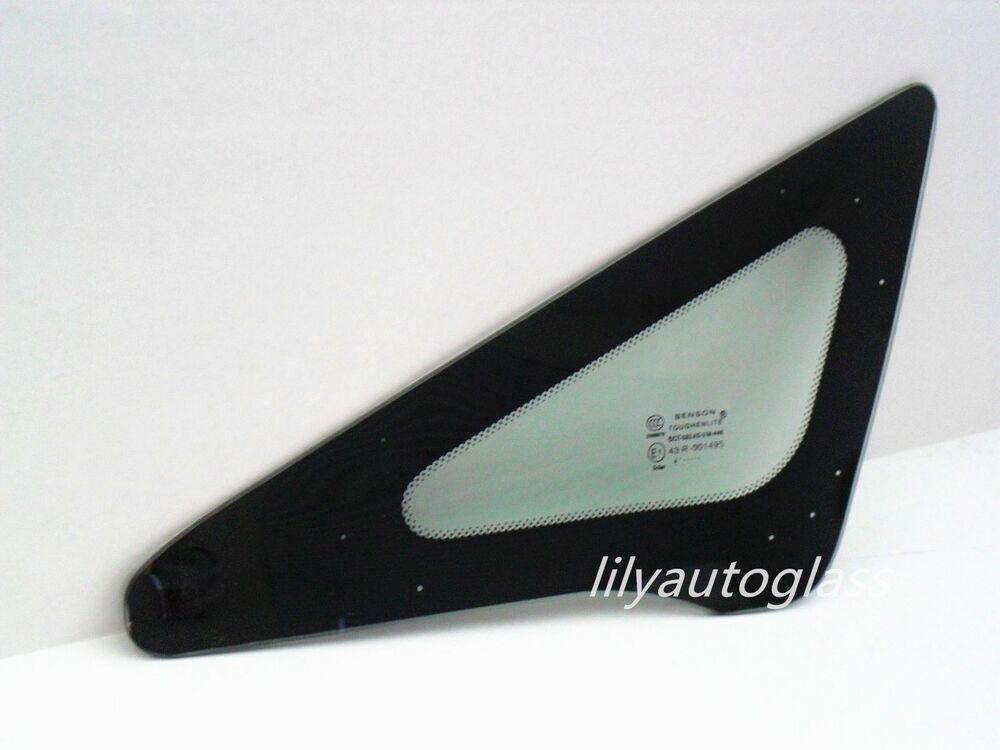 Civic Driver Side Door Glass Rear