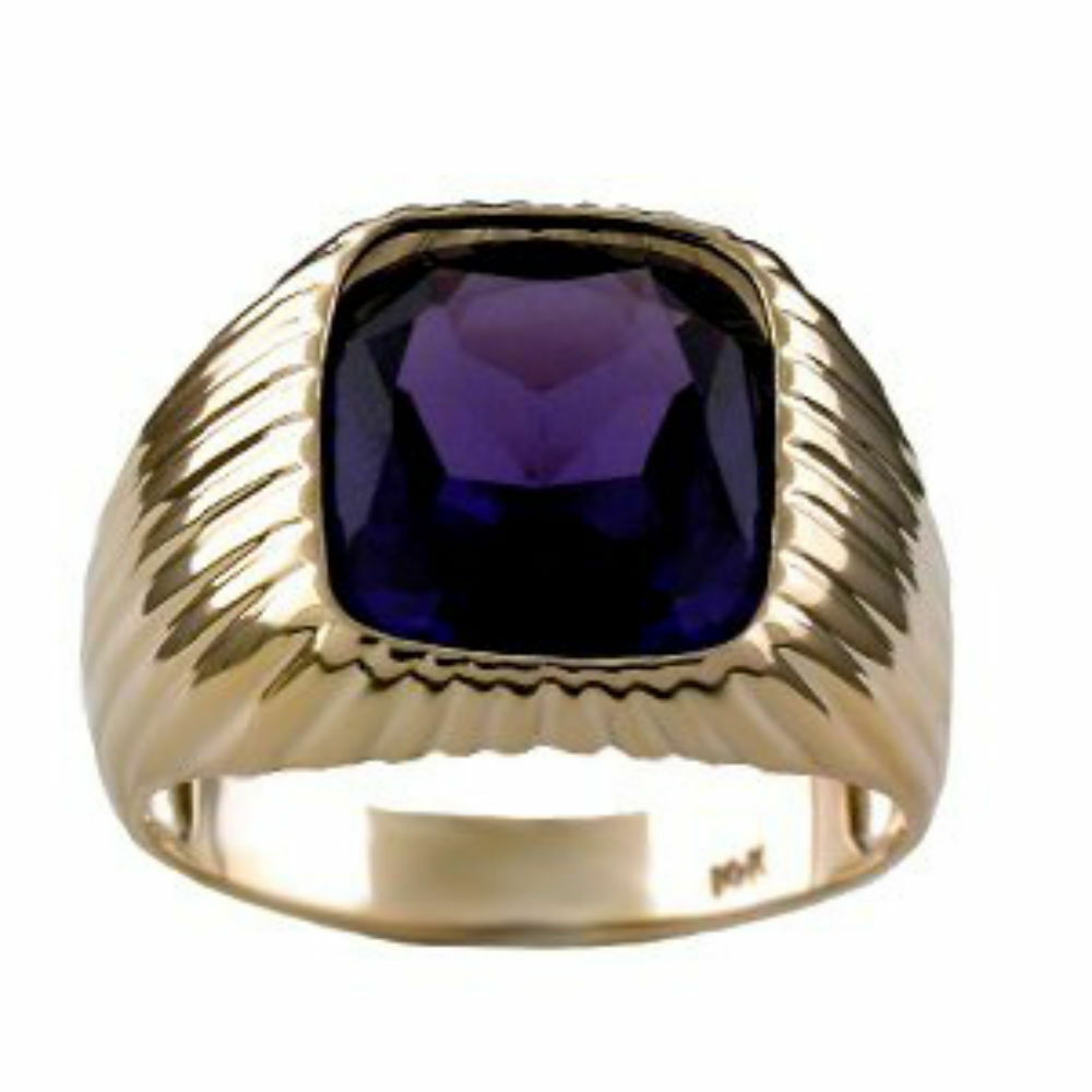 Natural Alexandrite White Gold Ring
