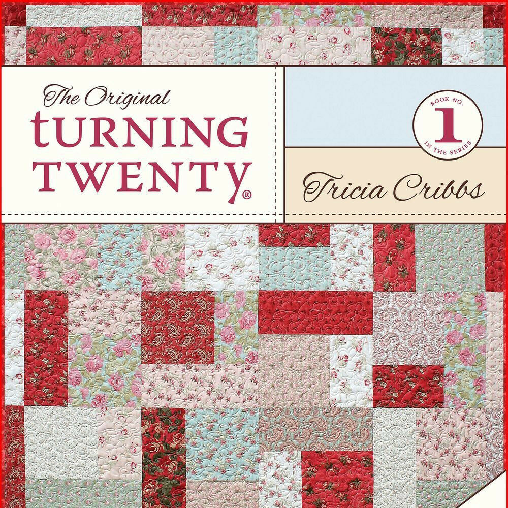 ORIGINAL TURNING TWENTY 20 Fat Quarters Fast Quilt Projects NEW BOOK Friendfolks eBay
