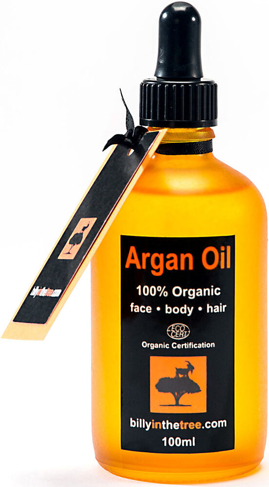 argan oil pure and organic 100ml 100 pure argan oil face body hair ebay. Black Bedroom Furniture Sets. Home Design Ideas
