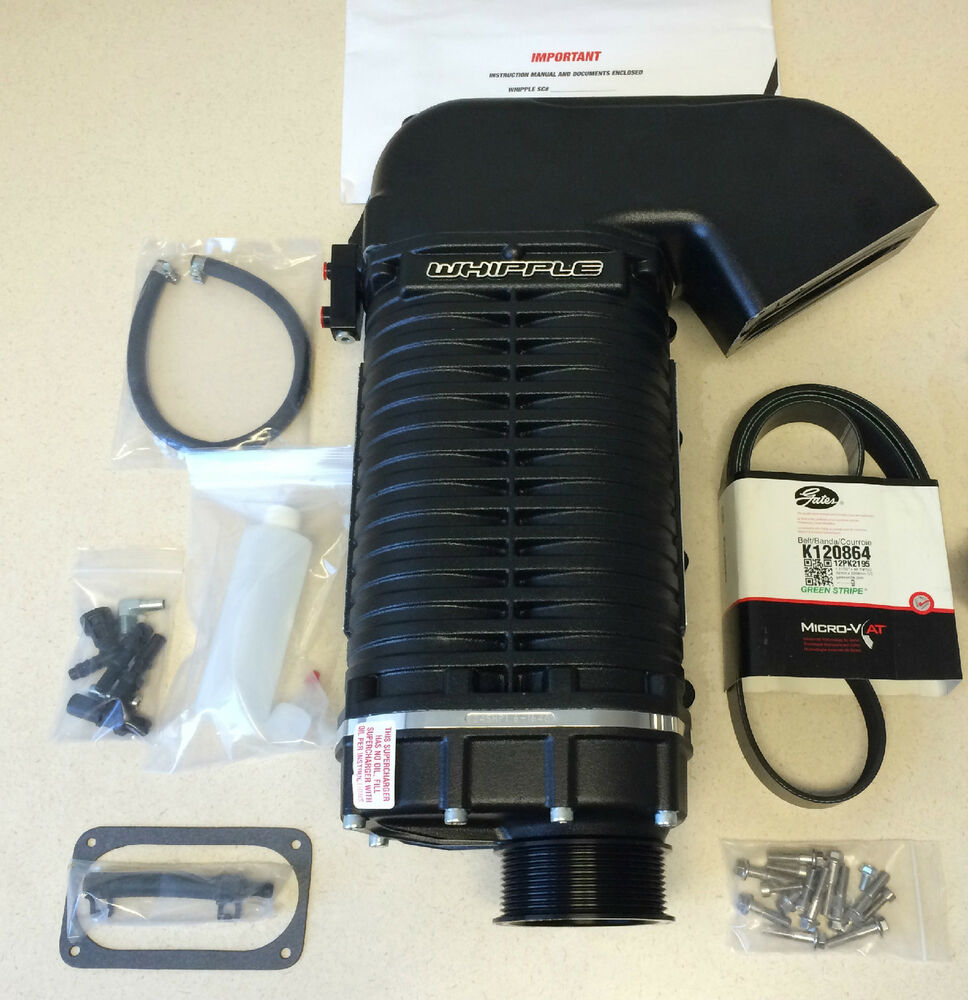 """Whipple Supercharger Replacement Parts: GT500 4.0L Whipple """"Crusher"""" Supercharger 2007-2014"""