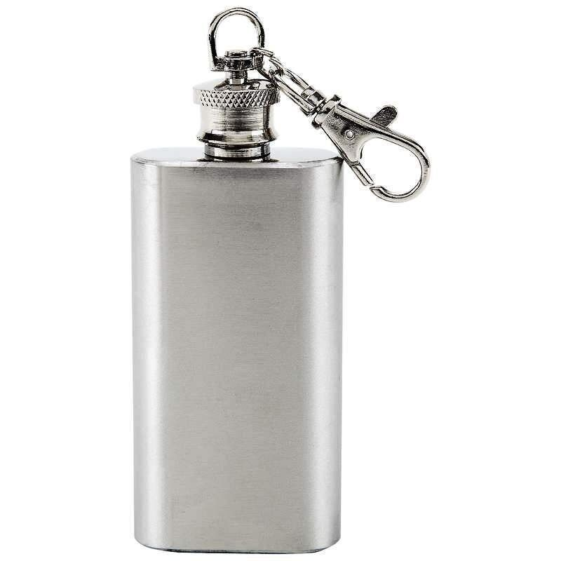 how to put liquor in a flask
