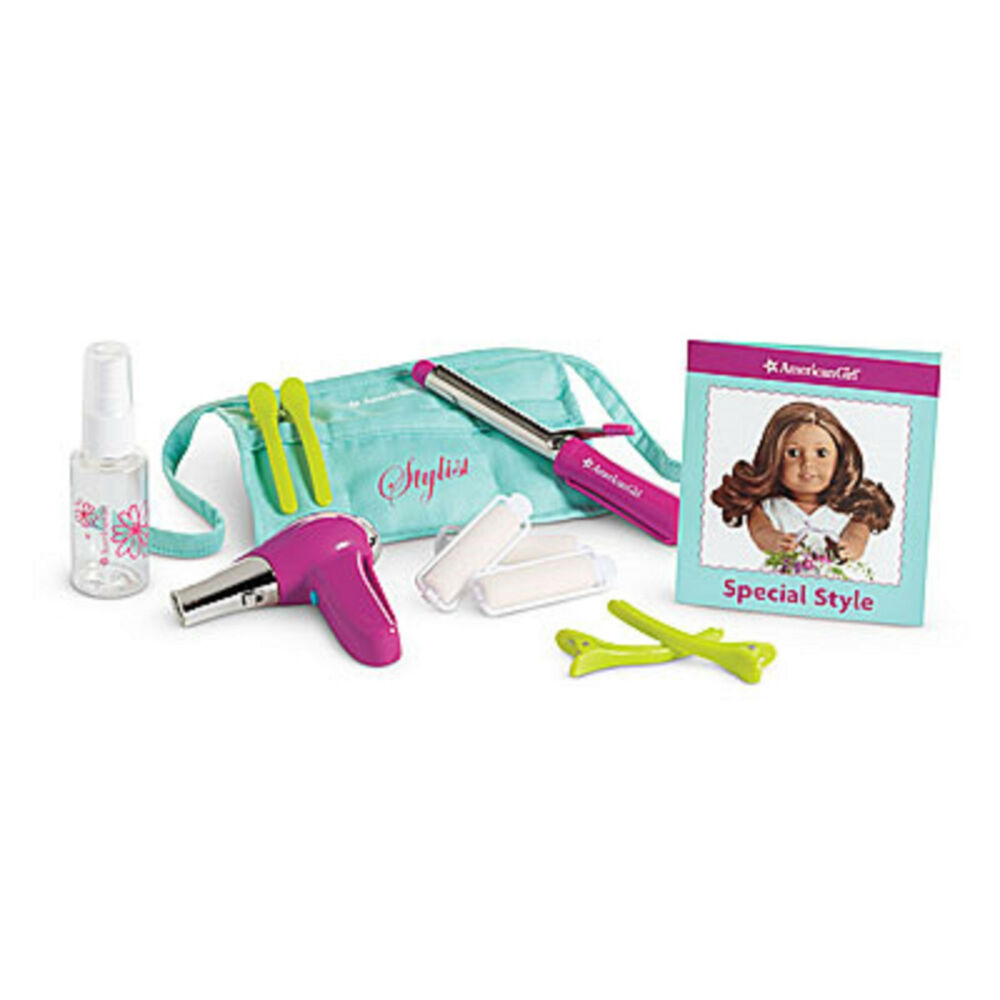 American Girl Truly Me Salon Stylist Set For Dolls Blow