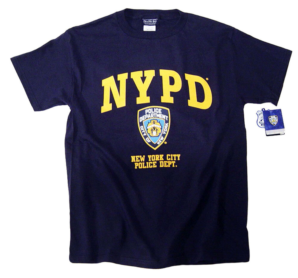 NYPD T-Shirt Officially Licensed By The New York City