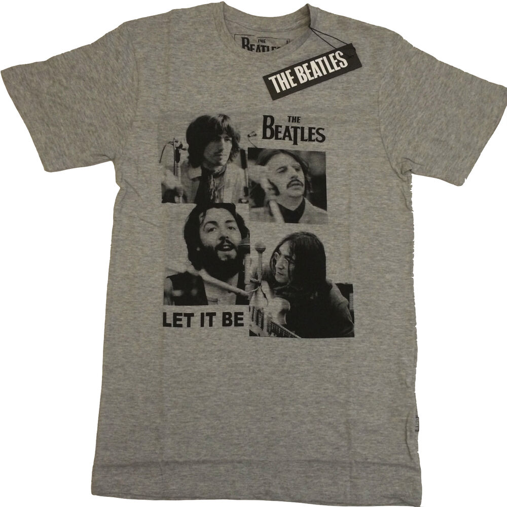 The Beatles Let It Be Official Mens T Shirt Ebay