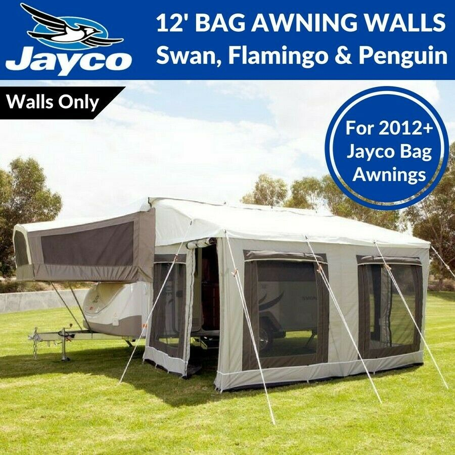 12' ft Jayco Bag Awning Walls Only for Swan, Flamingo ...