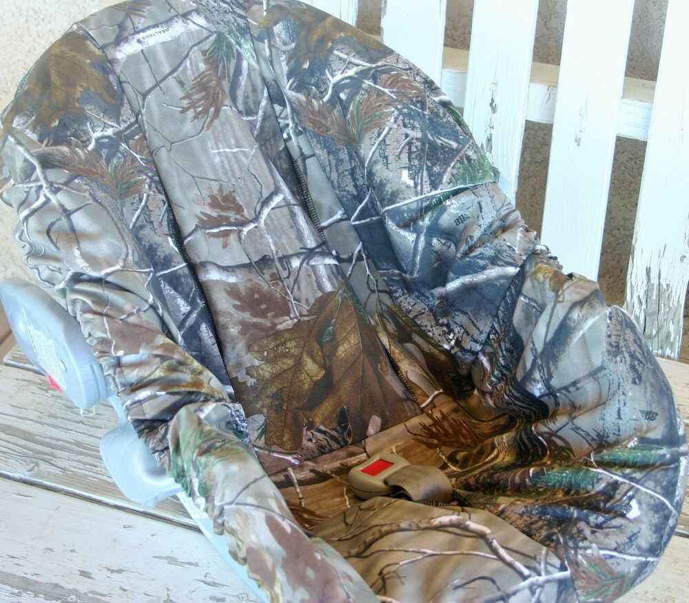 Realtree Camo Infant Car Seat Base Cover Only Ebay