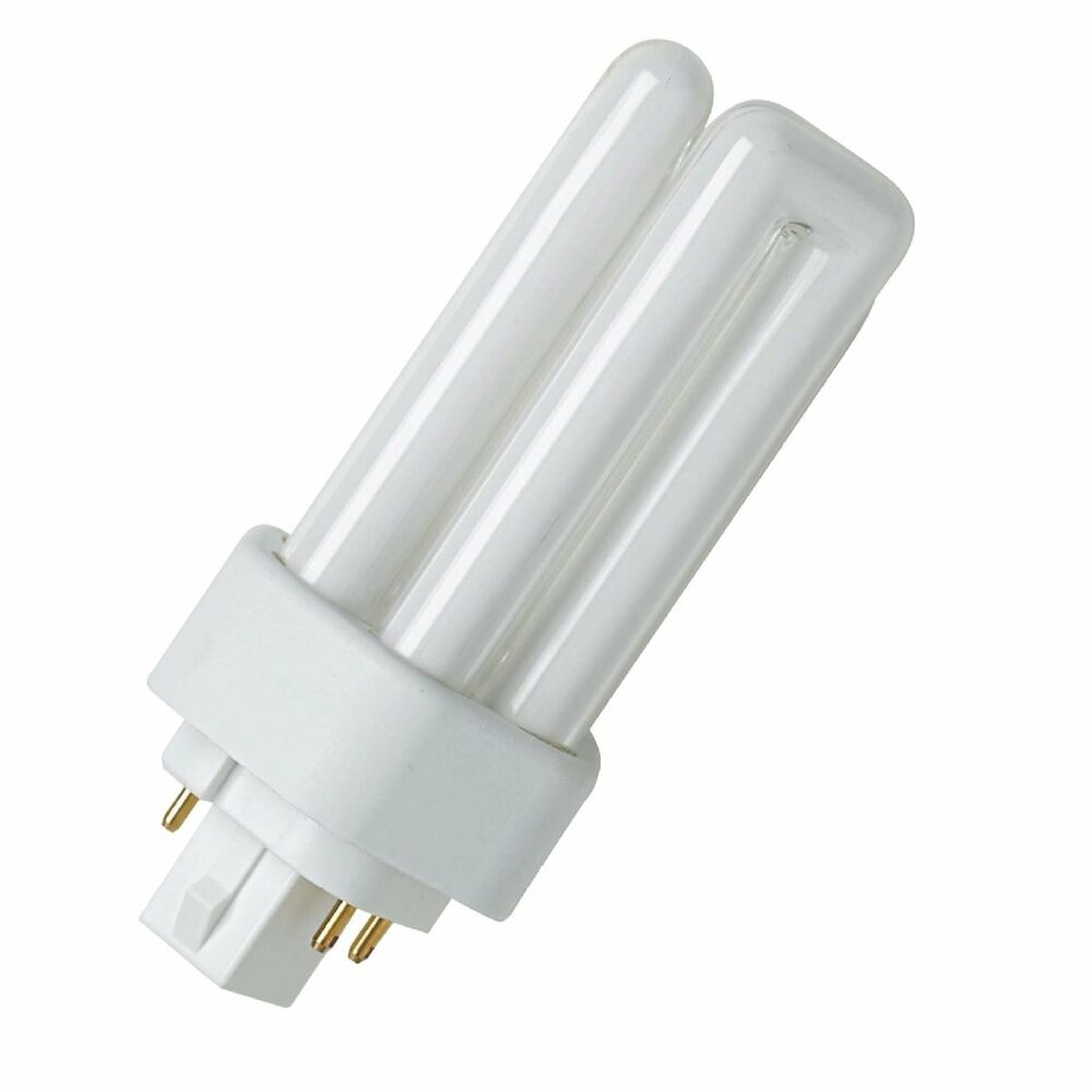 osram compact fluorescent lamp dulux t e plus gx24q 830 warm white 26w ebay. Black Bedroom Furniture Sets. Home Design Ideas