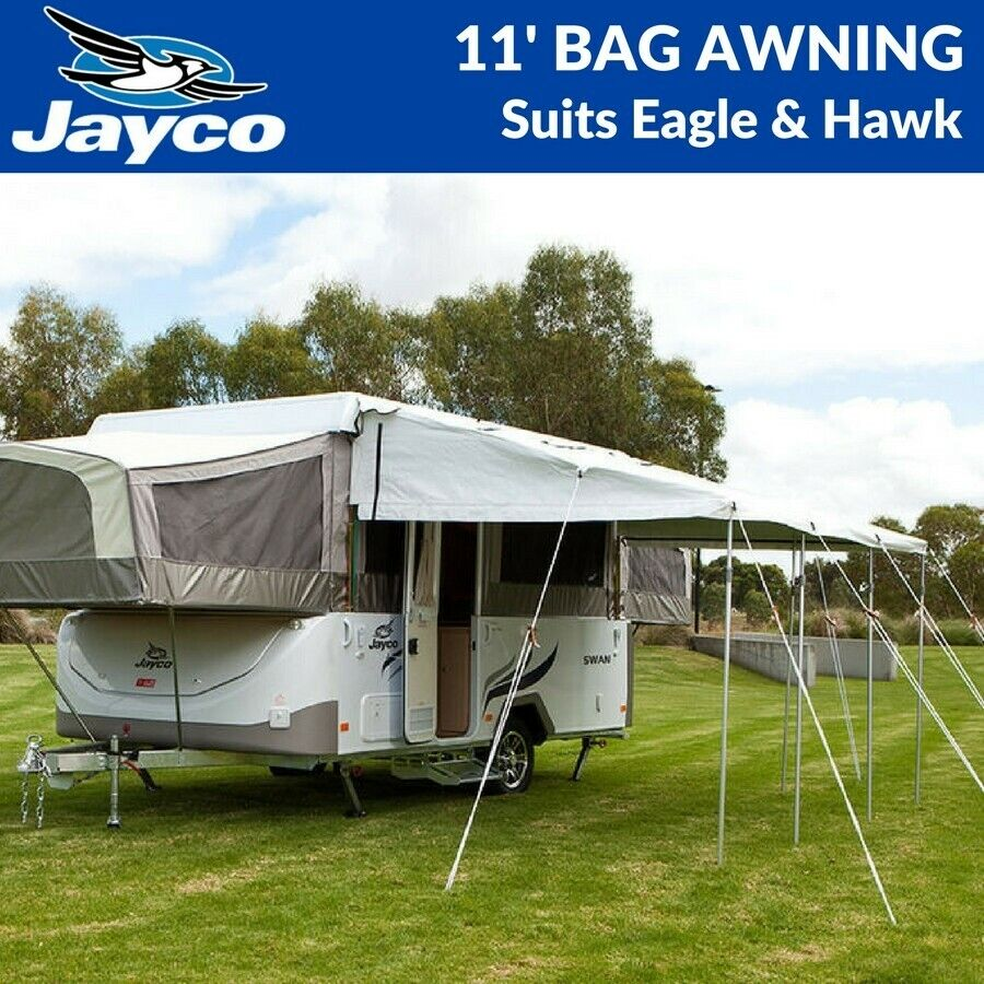 New Range 11' Ft Jayco Bag Awning To Suit Eagle & Hawk