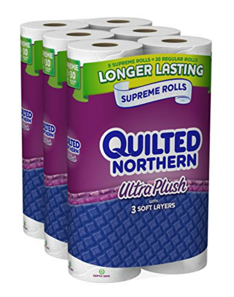 Quilted Northern Ultra Plush 24 Supreme 90 Regular Rolls