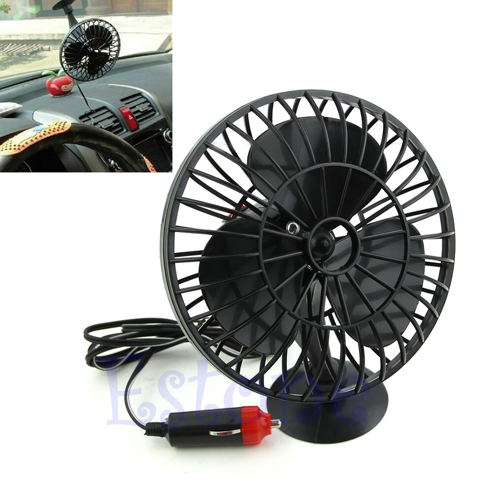 new 12v powered mini truck car vehicle cooling air fan adsorption summer gift 664288257879 ebay. Black Bedroom Furniture Sets. Home Design Ideas