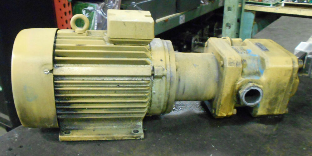Vickers hydraulic pump gpa 63 e 20 r w vem ac motor for Hydraulic pump motor combination