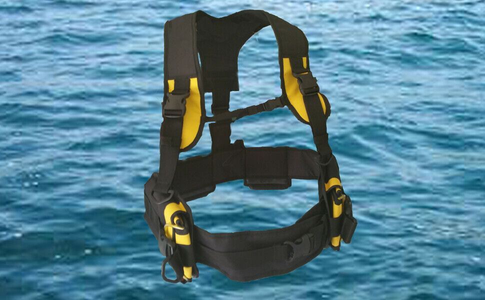 Scuba Diving Weight Harness Ebay