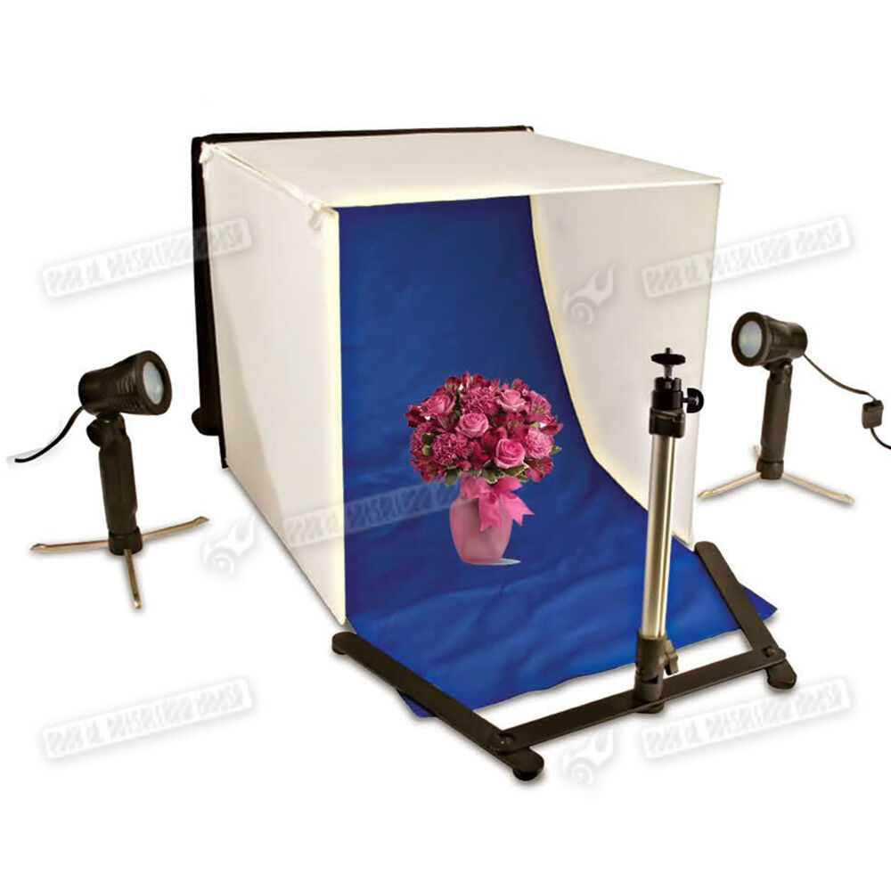 Optex Photo Studio Lighting Kit Review: Mini Portable Photo Studio Kit Cube Tent Box Light Tripod