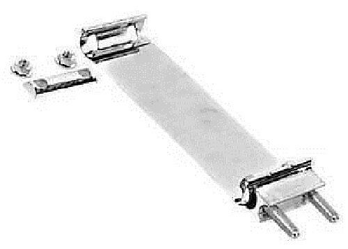 Band clamp inch exhaust wide polished ebay