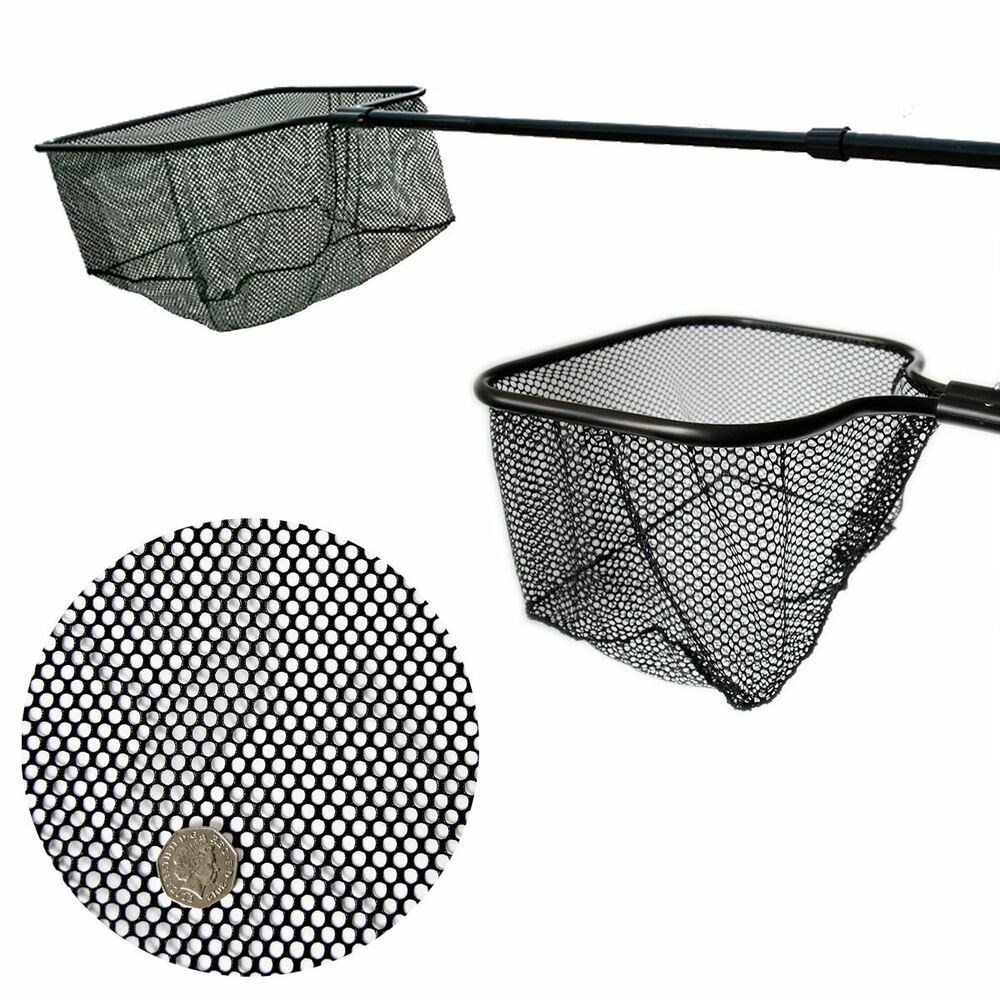 Pisces pond fish net with long telescopic handle koi for Koi fish net