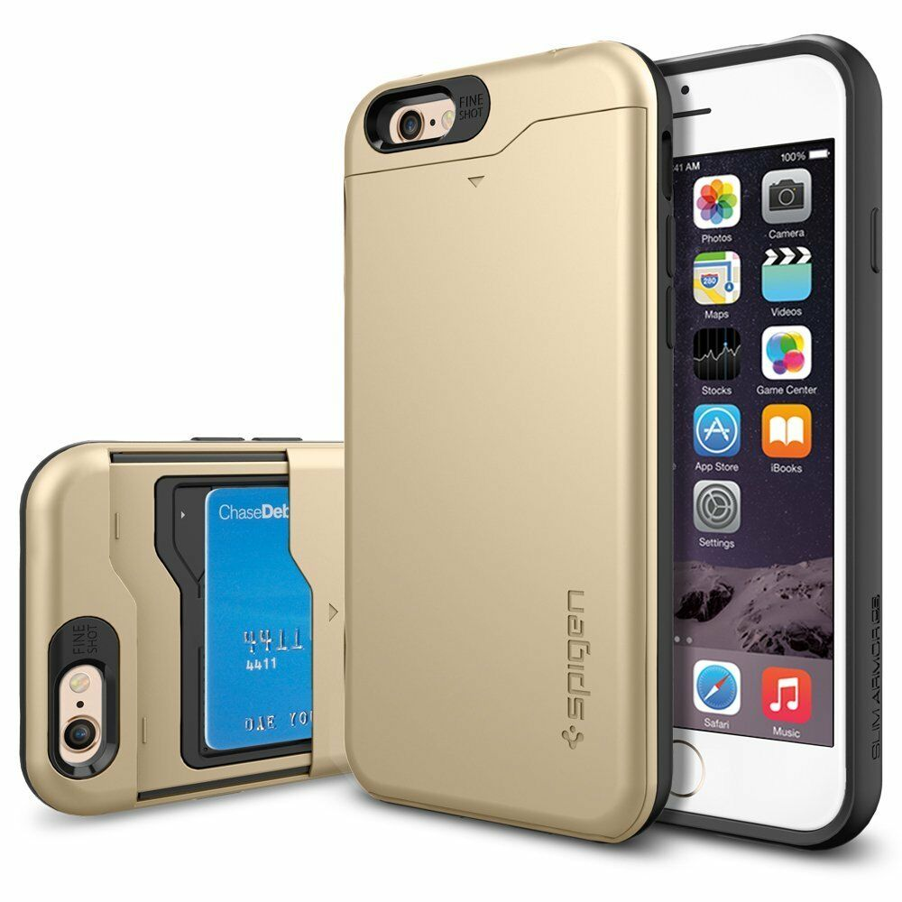 ebay iphone 4 case spigen slim armor cs for iphone 6 4 7 quot ebay 14038