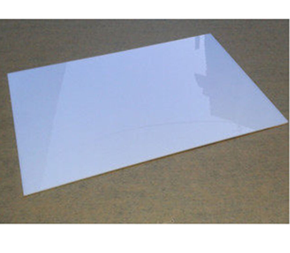 3mm white acrylic plaskolite panel sheet plexiglass plastic plate b5q ebay. Black Bedroom Furniture Sets. Home Design Ideas