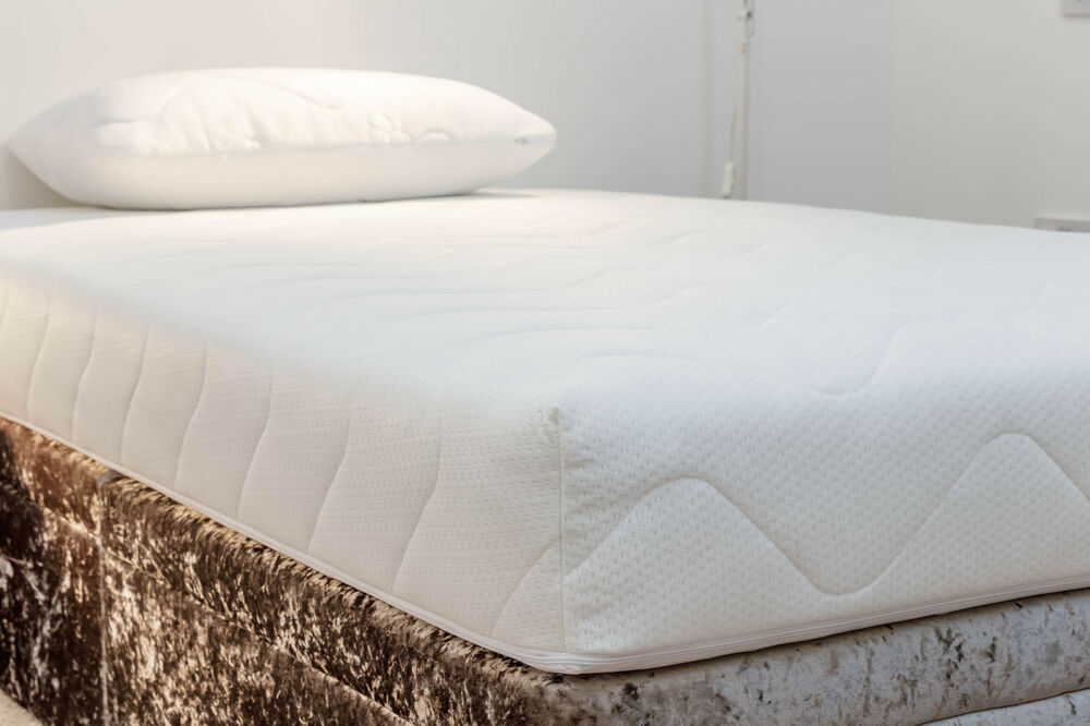 Double Quilted Mattress Cover Protector Fully Zipped