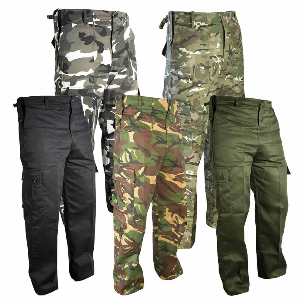 Alongside our British Army MTP combat trousers, we have US and German-style combats, MOD police trousers, specialist Buffalo trousers, waterproof and windproof trousers and more casual vintage trousers from Surplus. All available with free delivery within the UK.