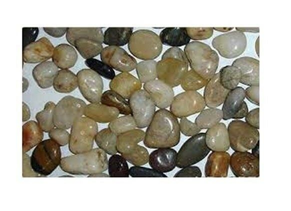 Flower small pebbles assortment natural pebble for Small decorative rocks