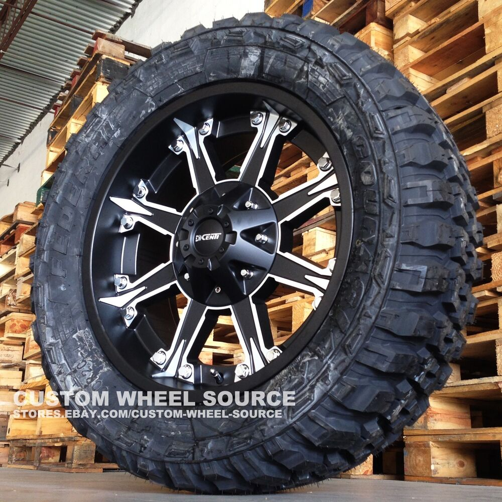 qty 4 20 dw920 wheels with or off road tires jeep rims ebay. Black Bedroom Furniture Sets. Home Design Ideas