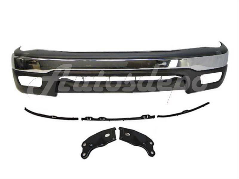 2001 2004 Tacoma 2wd Front Bumper Face Bar Chrome Up