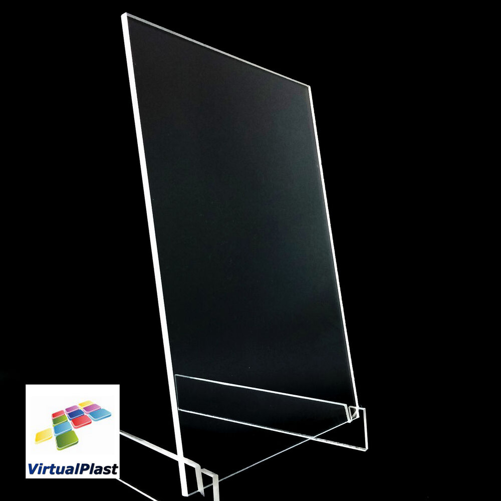 1mm 2mm 3mm clear perspex acrylic plastic plexiglass cut a4 sheet size ebay. Black Bedroom Furniture Sets. Home Design Ideas